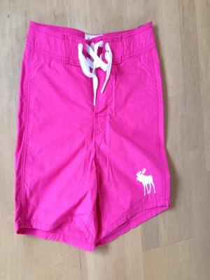 Shorts von Abercrombie&Fitch, Gr. M, pink