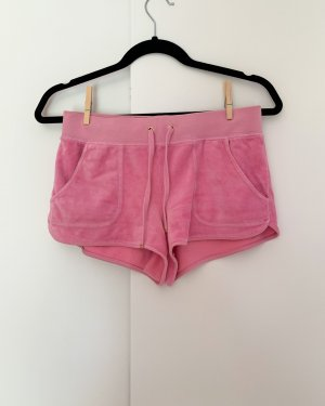 Juicy Couture Sportshort roze-neonroos