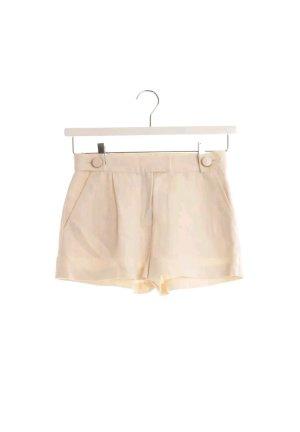 Shorts von Missoni in Cremeweiß aus Seide & Leinen