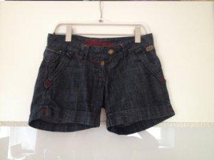 Shorts von Timezone in dunkelblau Größe 27