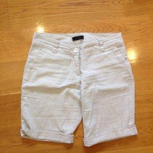Vero Moda Pantalon en lin blanc cassé