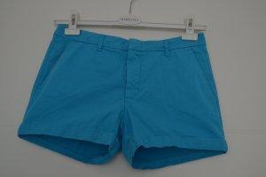 Zara Short bleu clair coton