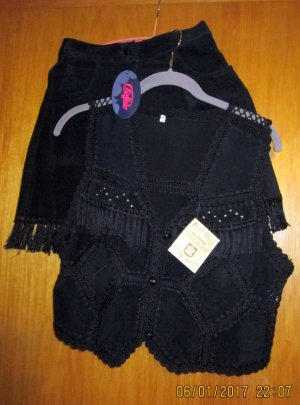 Shorts-/Westen Lederkombination-BUFFALO-neu-Gr.34