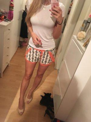 Shorts ZARA M orange Muster