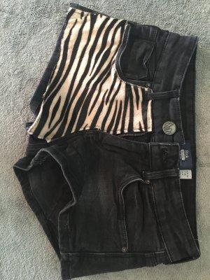 Shorts Zebra Look von Bershka