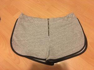 Zara Trafaluc Sport Shorts grey-black