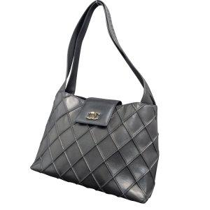 Chanel Sac à main noir cuir
