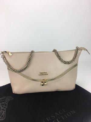 Gianni Versace Bolsa de hombro beige claro
