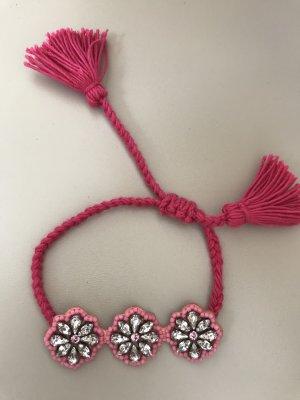 Shourouk Armband rosa / pink NEU