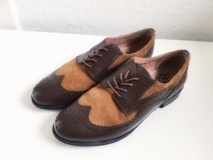 Si Barcelona Lace Shoes brown leather