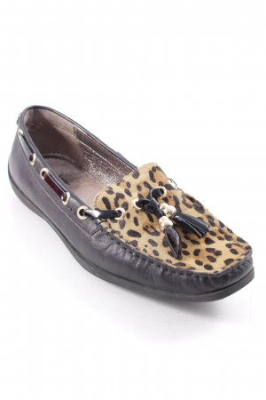 Si Barcelona Mocassins motif animal élégant