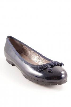 Sí Patent Leather Ballerinas dark blue casual look