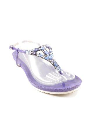Sí Riemchen-Sandalen dunkelblau Elegant