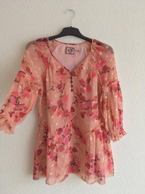 Juicy Couture Zijden blouse veelkleurig Zijde