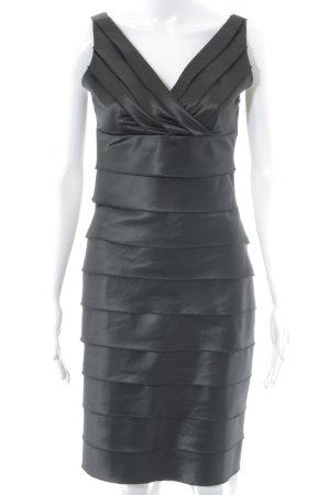 Sienna A-Linien Kleid schwarz Elegant