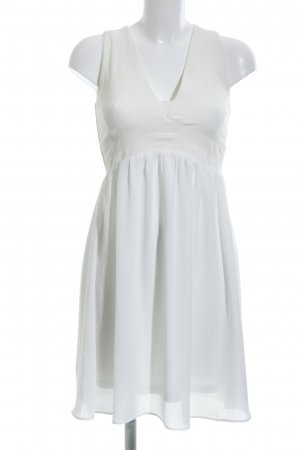Sienna A-Linien Kleid weiß Elegant