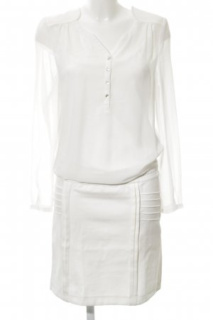 Sienna Blousejurk wit zakelijke stijl