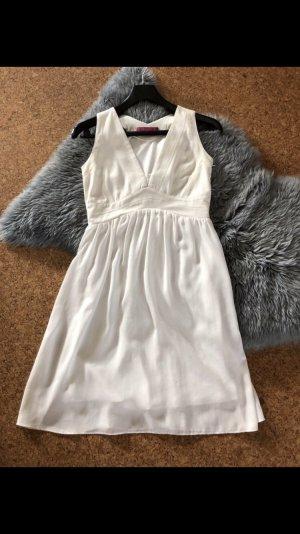 Sienna Impressionen Kleid Sommerkleid weiß