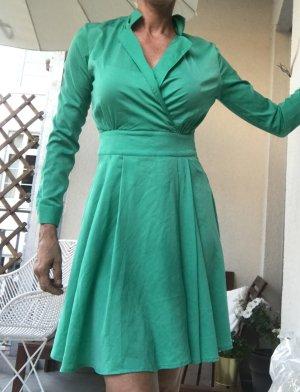 Sienna jadegrünes Kleid Gr.36