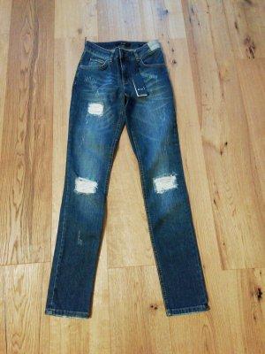 Oui Jeans blu