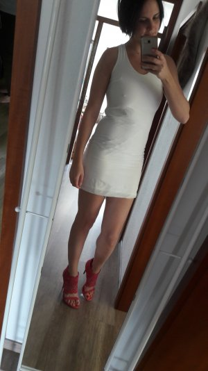 Sienna Kleid Etuikleid Minikleid weiß Bodycon 36