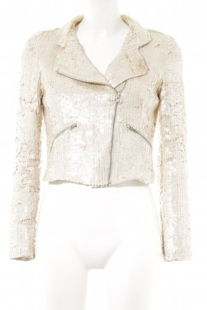 Sienna Kurz-Blazer creme Party-Look