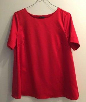 Sienna Blouse à manches courtes rouge foncé
