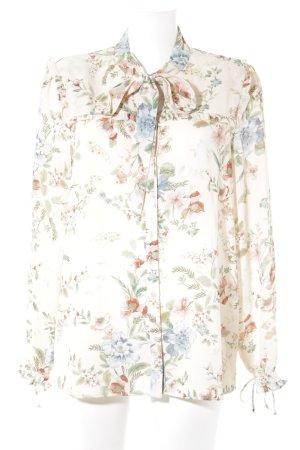 Sienna Langarm-Bluse Blumenmuster Casual-Look