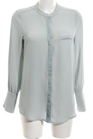 Sienna Langarm-Bluse blau Business-Look