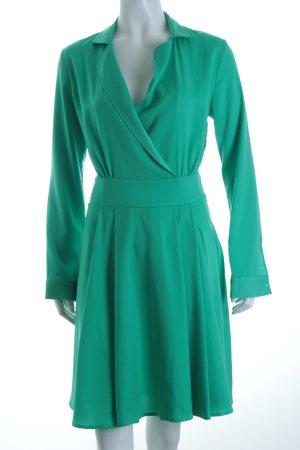 Sienna Langarmkleid grün Casual-Look