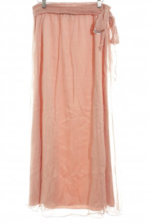 Sienna Maxi Skirt apricot romantic style
