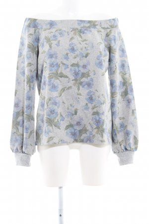 Sienna Oversized Pullover florales Muster