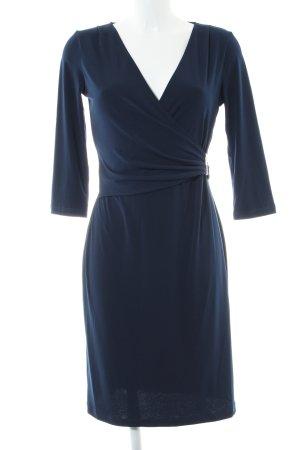 Sienna Stretchkleid blau Business-Look