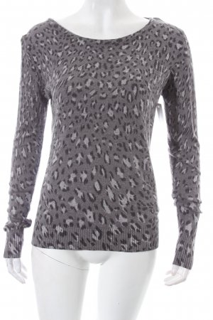 Sienna Strickpullover Leomuster Casual-Look