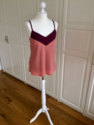 Sienna Top aprikot bordeaux 36