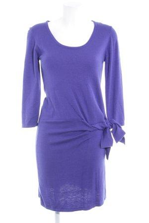 Sienna Wollkleid dunkelviolett Elegant