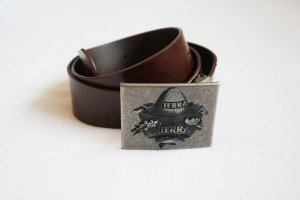 Faux Leather Belt multicolored imitation leather