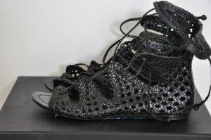 Sigerson Morrison // Schwarze Leder Sandalen // Sandalette // sehr guter Zustand