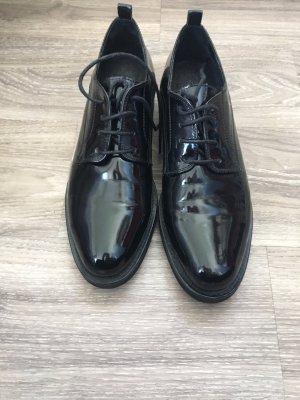 Sign lack Schuhe schwarz 39