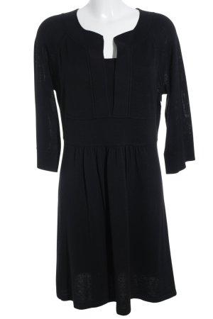 Signature Vestido bustier negro estilo sencillo