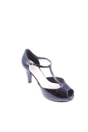 Signature High Heels schwarz klassischer Stil