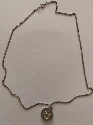 Silber 835 Kette mit Talisman Anhänger, M.Zell