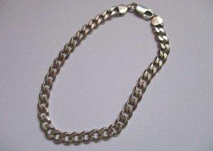 0039 Italy Zilveren armband zilver