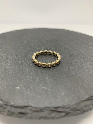Silber 925 memory ring gold gr 56 neu