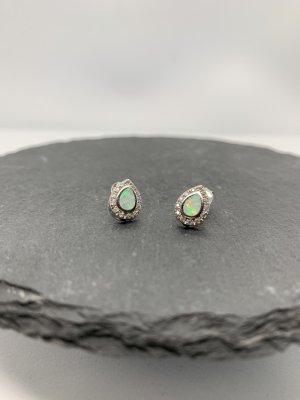 Silber 925 ohrstecker opal neu