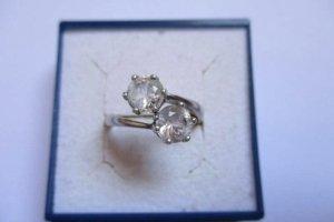 Silber 925 Ring mit Zirkonia