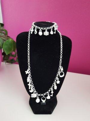 Silver Chain white-silver-colored