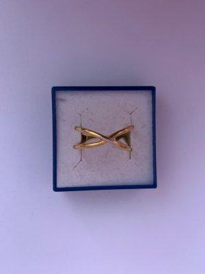 Silber 925 vergoldeter Ring