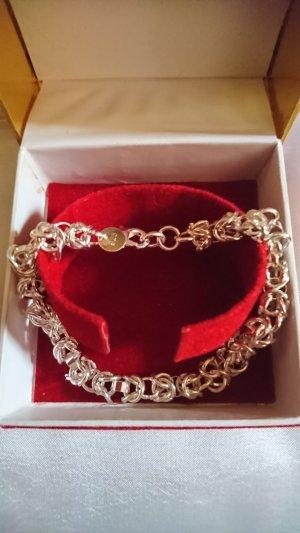 no name Silver Bracelet silver-colored