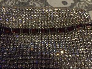 Silber Armband mit rote Steine